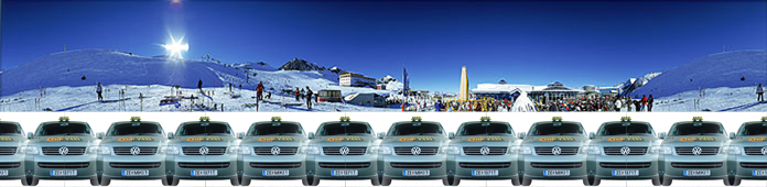 Top Taxi Zell am See / Kaprun - Winter !